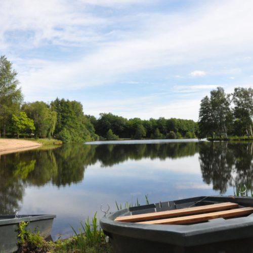 barques sur l'étang